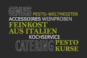 Kochservice, Catering, Pesto-Kurse
