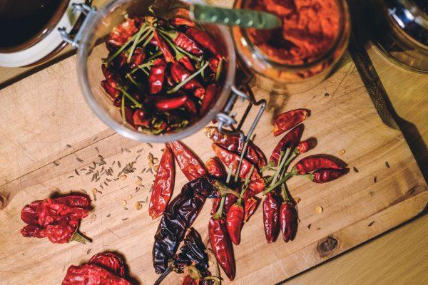 Grundnahrungsmittel in Kalabrien ist die Chili oder il peperoncino