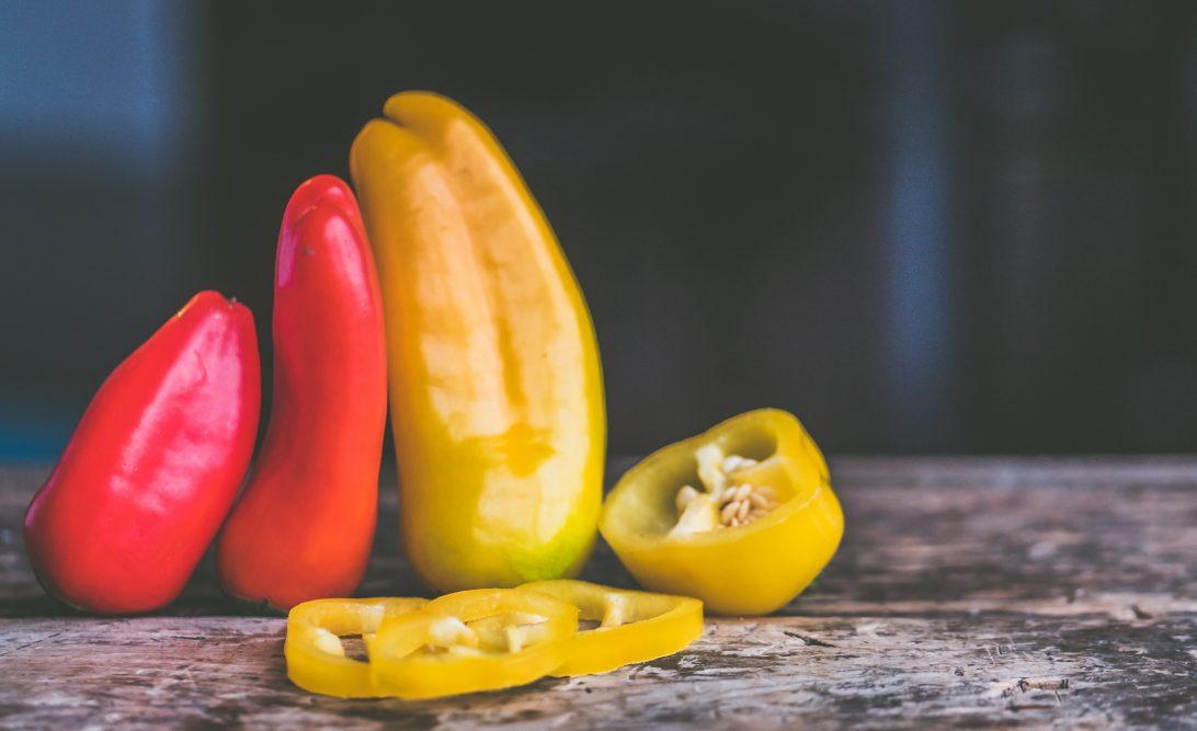 Paprika, gegrillte Paprika, Antipasto