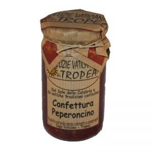 Confettura Peperoncino, Chili-Marmelade, scharfe Marmelade, Chili-Konfitüre