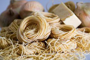 Pasta, italienische Pasta, Nudeln, Hartweizennudeln