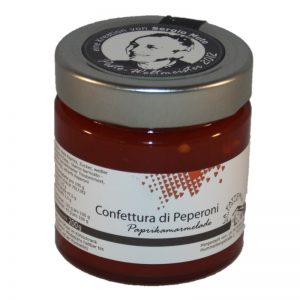 Paprikamarmelade, confettura di peperoni, rote Paprikamarmelade