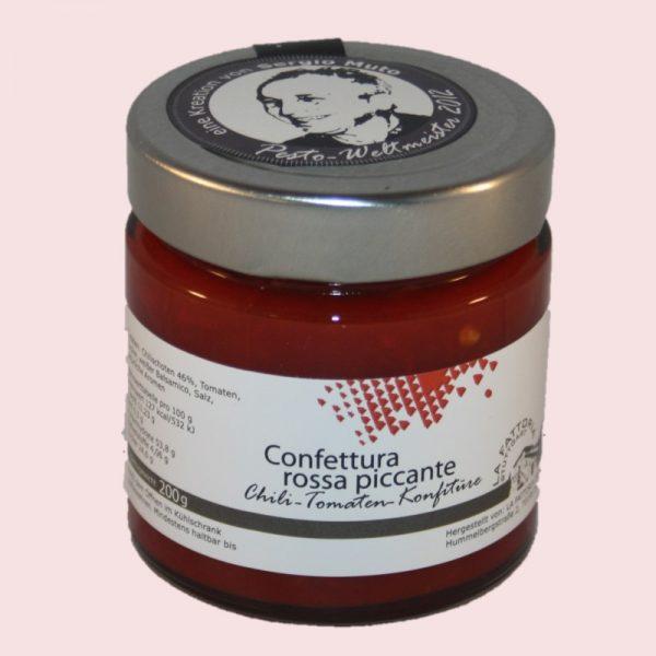 Confettura rossa piccante