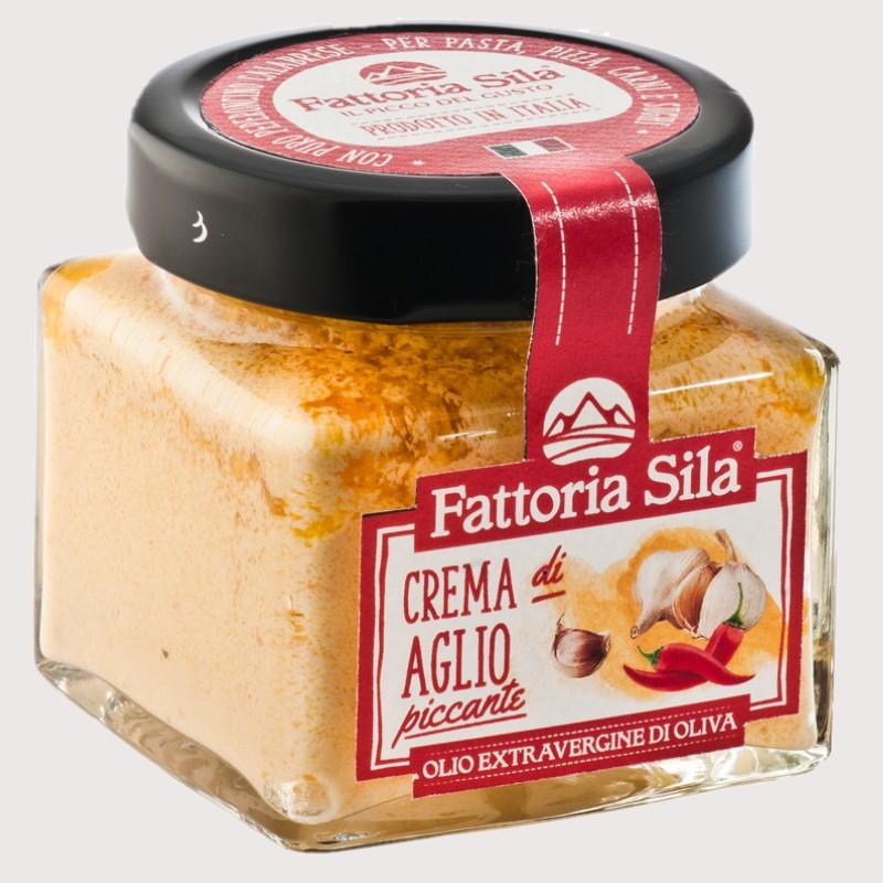 Crema aglio piccante