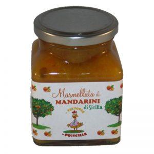 fruchtige Mandarinenmarmelade, Marmellata di Mandarini, Sizilien