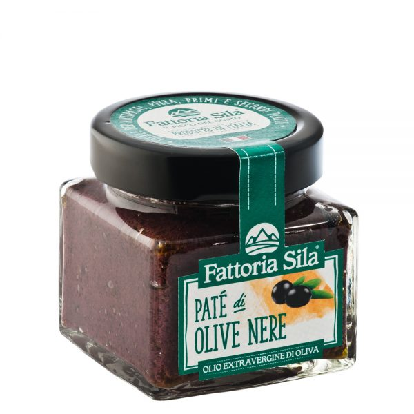 Paté Olive Nere, schwarze Oliven Paste, Oliventapenade
