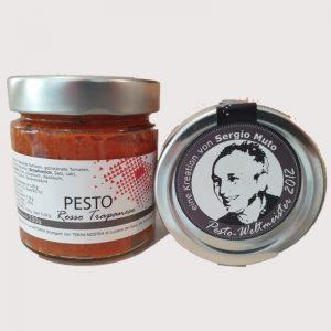 Pesto Rosso Trapanese mit Deckel