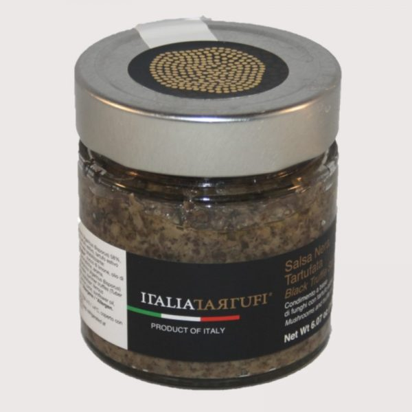 Salsa Nera Tartufata 190 g - schwarze Trüffelsoße
