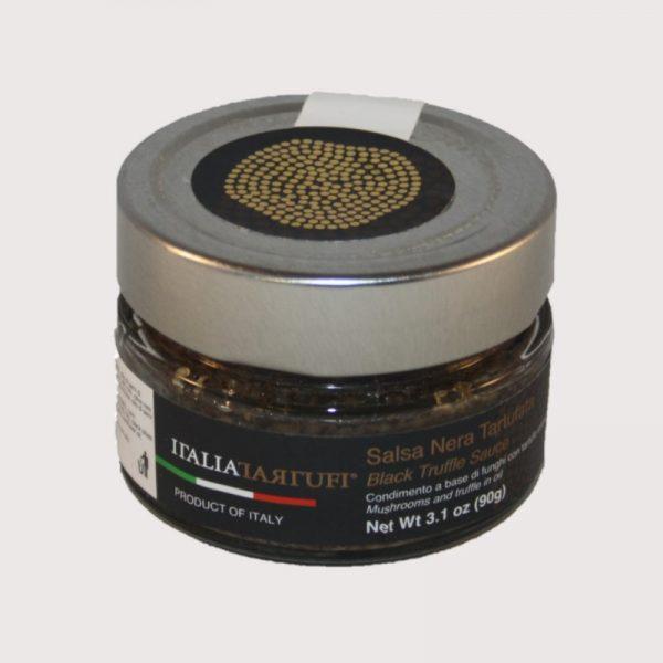 Salsa Nera Tartufata 90 g - schwarze Trüffelsoße