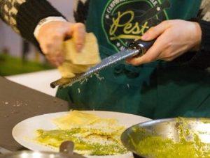 Messe Kochen Pesto