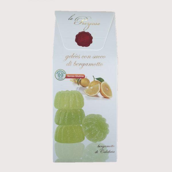 Geleepralinen mit Bergamotte