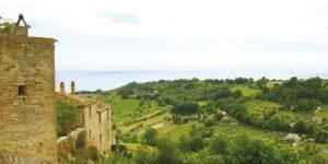 Landschaft Campofilone Marken